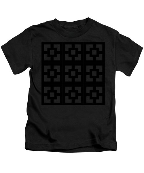 Squares Multiview Kids T-Shirt