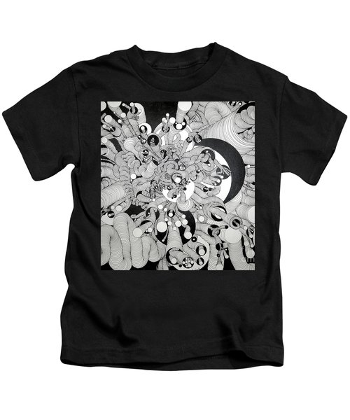 Squiggle Art By Amy Kids T-Shirt