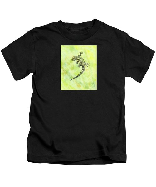 Squiggle Gecko Kids T-Shirt