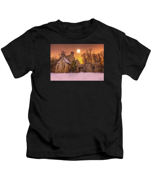 Squires Castle In The Winter Kids T-Shirt