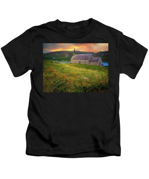 St. Brendan The Navigator Church Of Ireland In Crookhaven Kids T-Shirt
