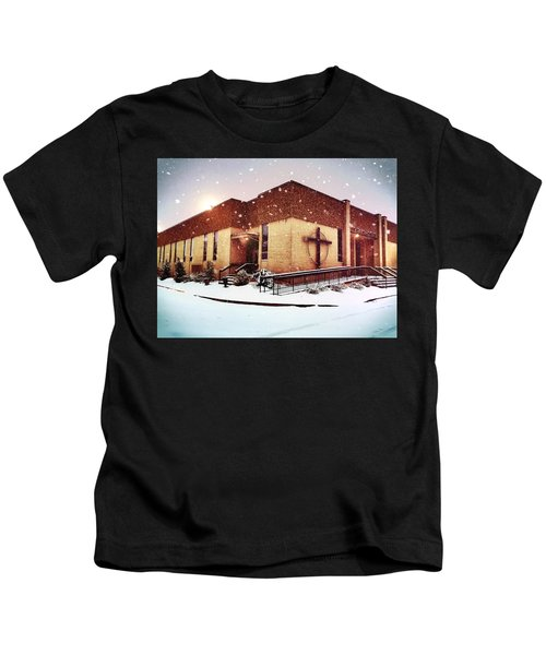 St. Isaac Jogues In The Snow Kids T-Shirt