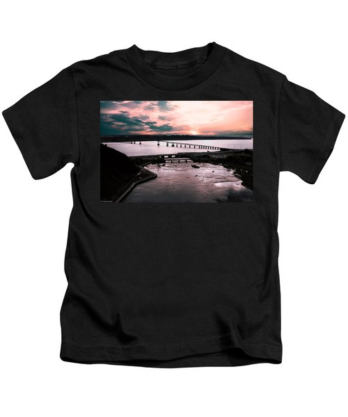 St. Lawrence Sunset Kids T-Shirt