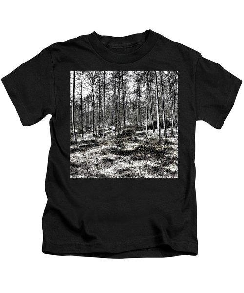 St Lawrence's Wood, Hartshill Hayes Kids T-Shirt