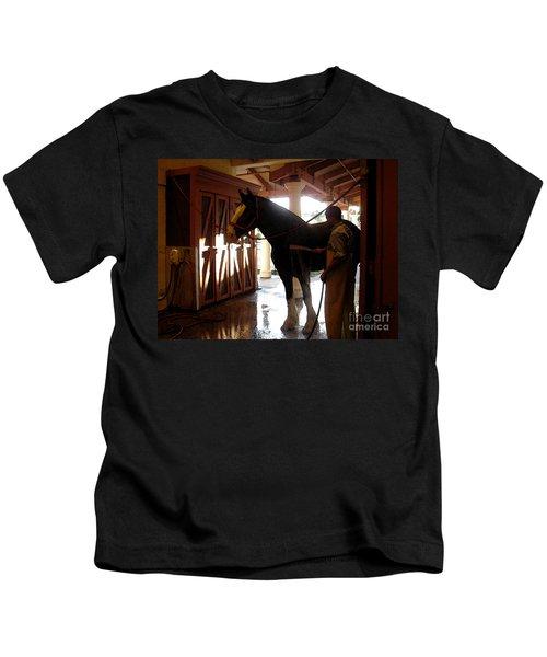Stable Groom - 1 Kids T-Shirt