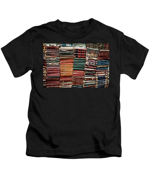 Stacks Of Books Kids T-Shirt