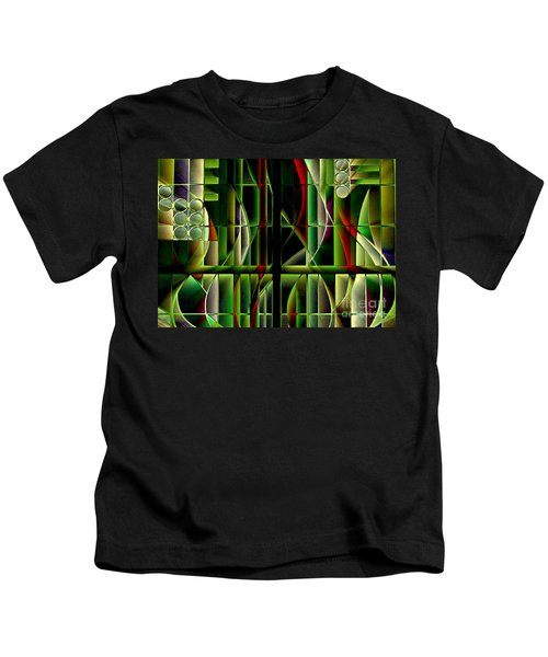 Stained Glass 2 Kids T-Shirt