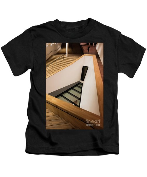 Staircase In Elbphiharmonic Kids T-Shirt