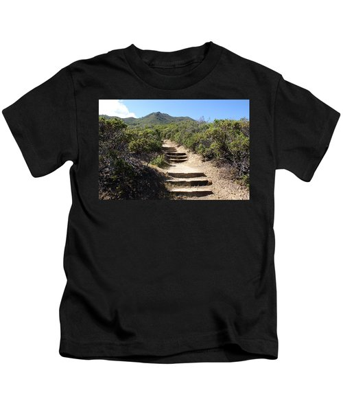 Stairway To Heaven On Mt Tamalpais Kids T-Shirt