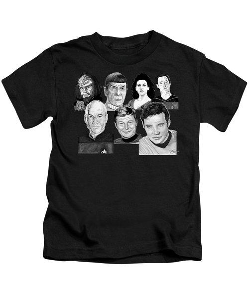 Star Trek Crew Kids T-Shirt