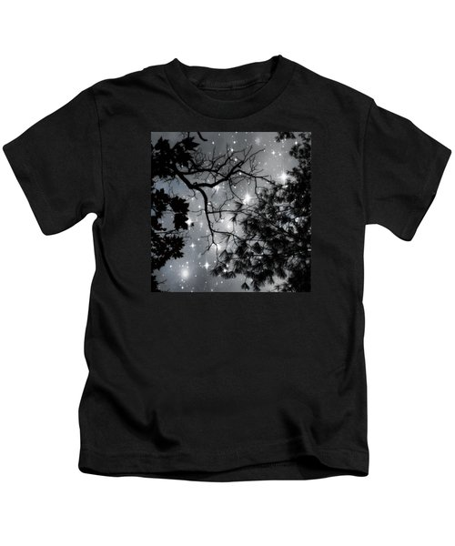 Starry Night Sky Kids T-Shirt