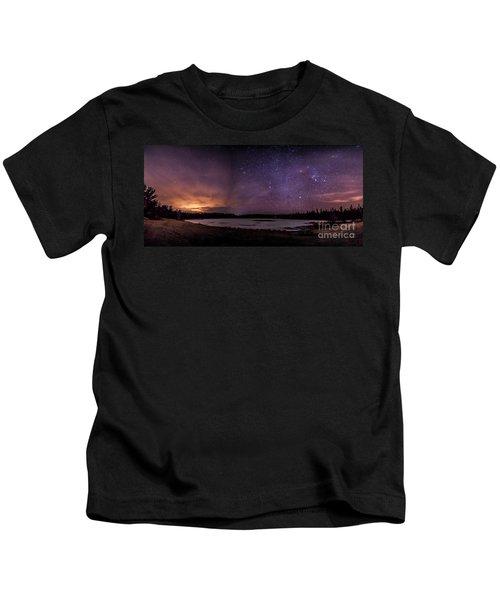 Stars Over Lake Eaton Kids T-Shirt