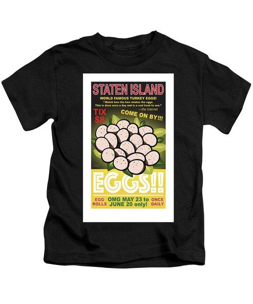 Staten Islands Eggs Kids T-Shirt