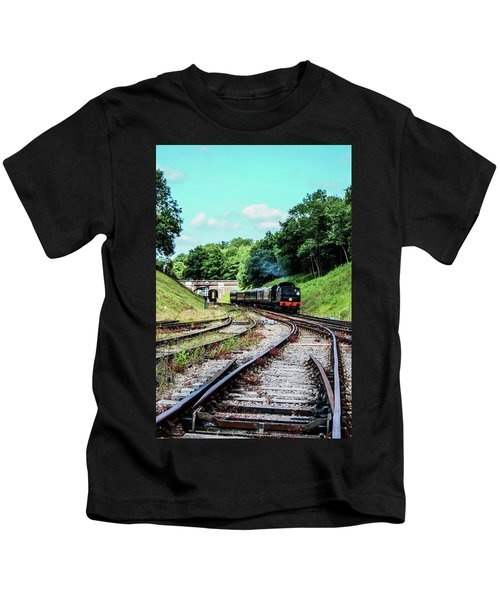 Steam Train Nr The Bridge Kids T-Shirt
