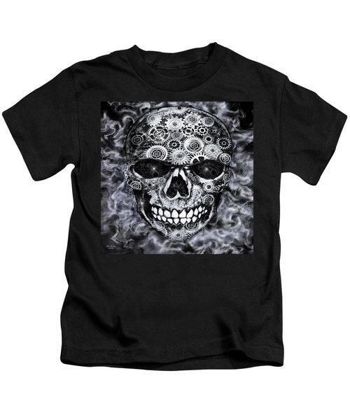 Steampunk Skull Kids T-Shirt