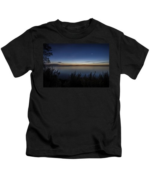 Steelworkers Park View At Dawn Kids T-Shirt