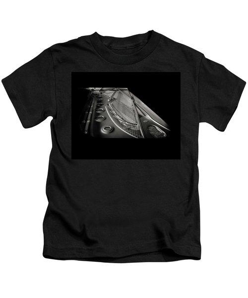 Steinway Guts Bw Kids T-Shirt