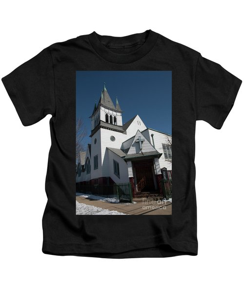 Steinwy Reformed Church Steinway Reformed Church Astoria, N.y. Kids T-Shirt