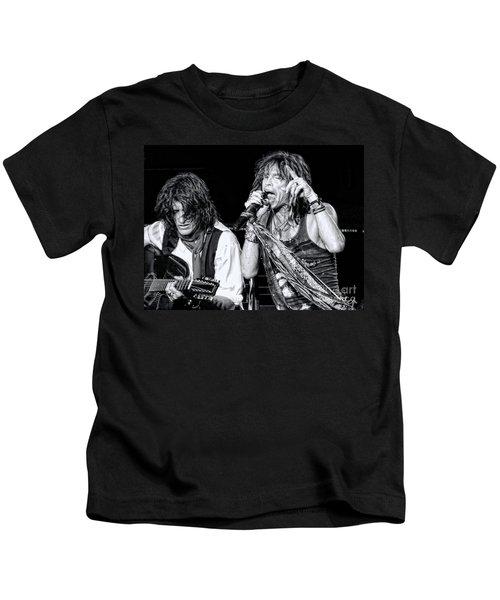 Steven Tyler Croons Kids T-Shirt