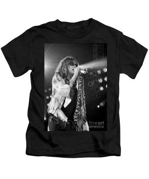 Steven Tyler In Concert Kids T-Shirt