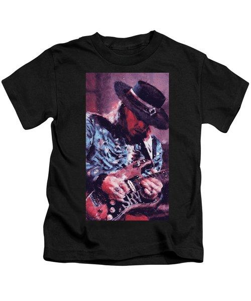 Stevie Ray Vaughan - 25 Kids T-Shirt