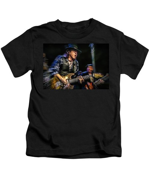 Stevie Ray Vaughan - Couldn't Stand The Weather Kids T-Shirt