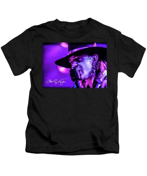 Stevie Ray Vaughan- Voodoo Chile Kids T-Shirt