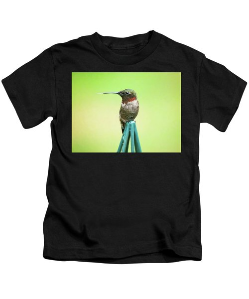 Stick Out Your Tongue Kids T-Shirt