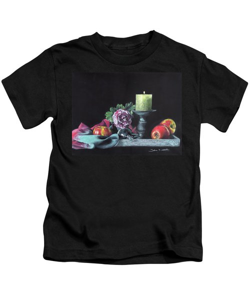 Still Life With Candle Kids T-Shirt