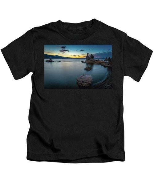 Stillness...mono Lake Kids T-Shirt