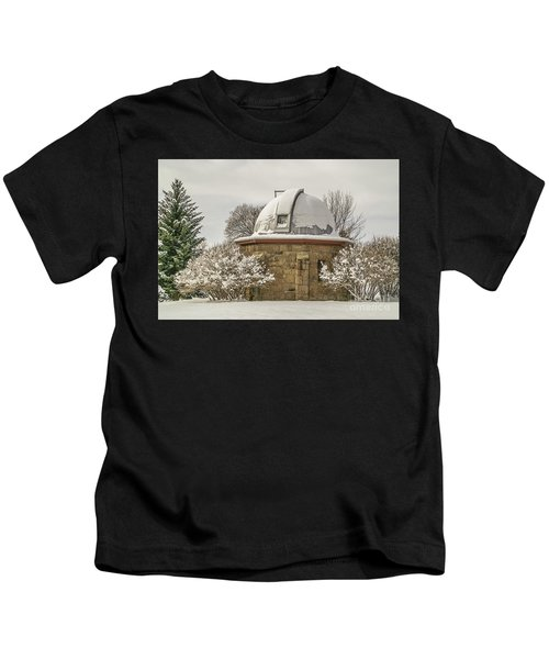 Stone Block Observatory Kids T-Shirt