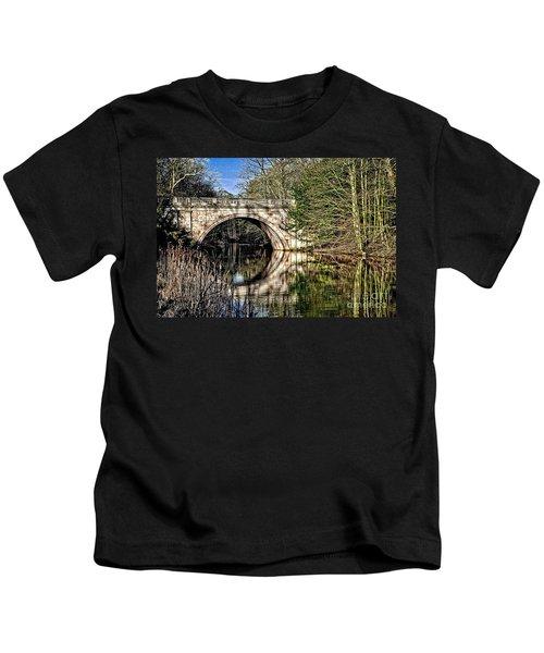 Stone Bridge On River Kids T-Shirt