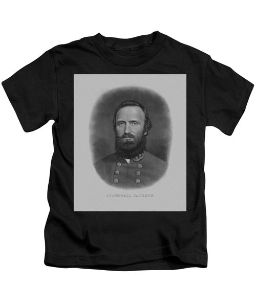 Stonewall Jackson Kids T-Shirt