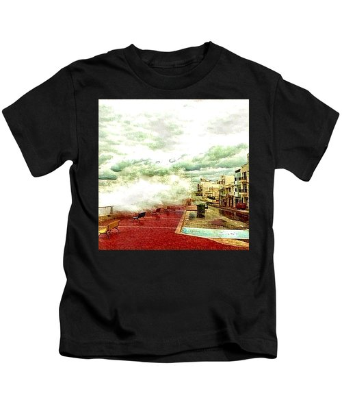 Stormy Sea Kids T-Shirt