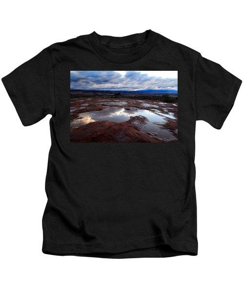Stormy Sunrise Kids T-Shirt