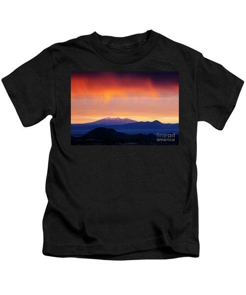 Stormy Sunset Kids T-Shirt