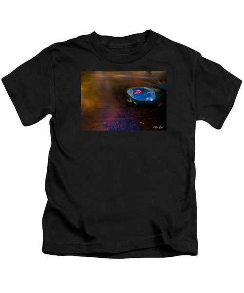 Stranded Leaf Kids T-Shirt