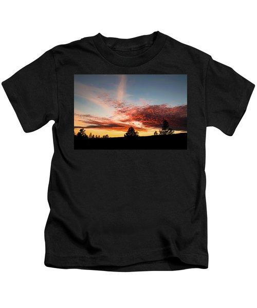 Stratocumulus Sunset Kids T-Shirt