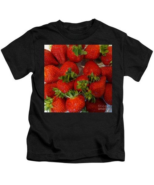 Strawberries Kids T-Shirt