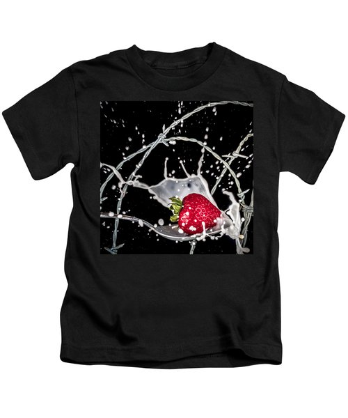 Strawberry Extreme Sports Kids T-Shirt