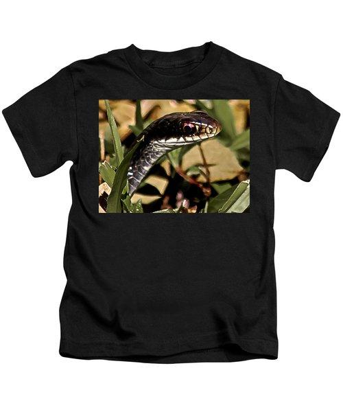 Striking A Pose Kids T-Shirt