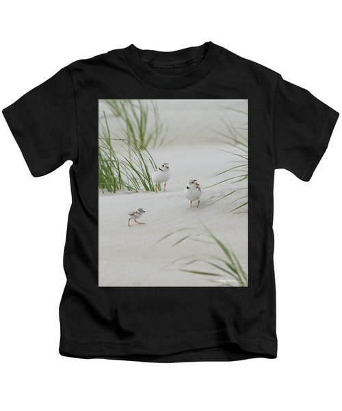 Struggle In The Blowing Sand Kids T-Shirt