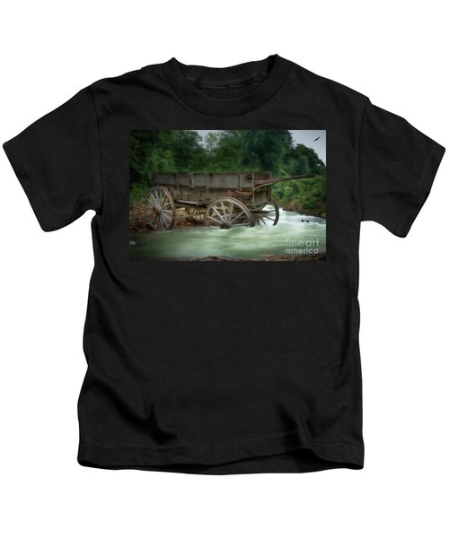 Stuck In Time Kids T-Shirt