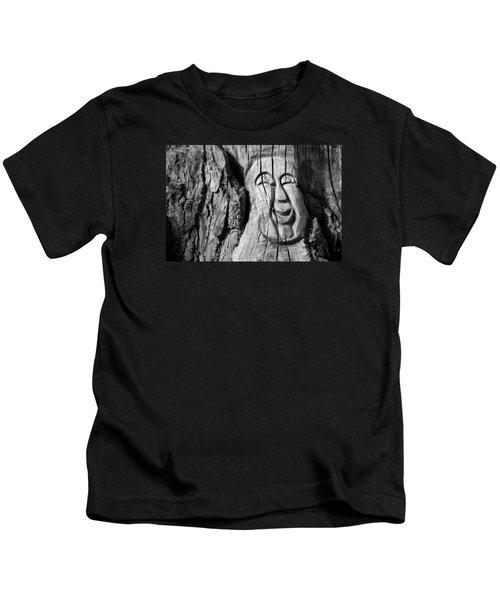 Stump Face 3 Kids T-Shirt