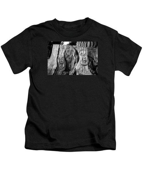 Stump Faces 2 Kids T-Shirt