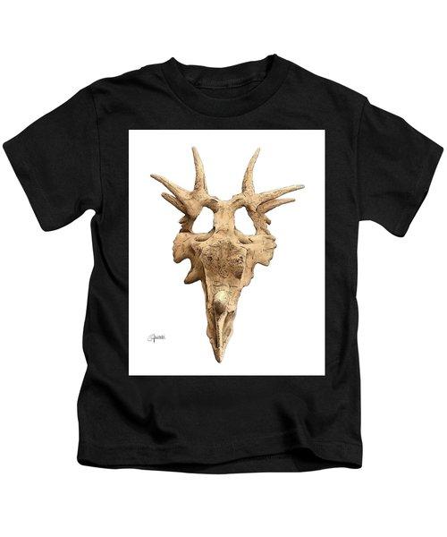 Styracosaur Skull Kids T-Shirt