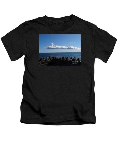 Submarine Cloud Kids T-Shirt