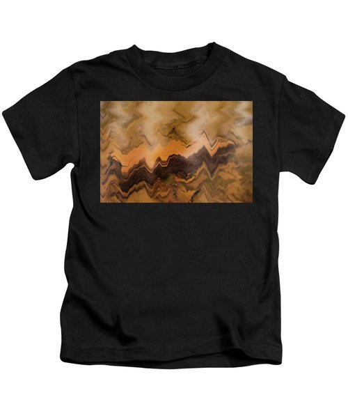 Submerged Railroad Tie Kids T-Shirt