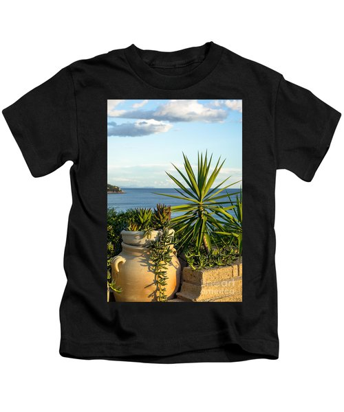 Succulents By The Sea Kids T-Shirt