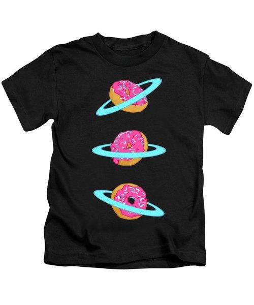 Sugar Rings Of Saturn Kids T-Shirt